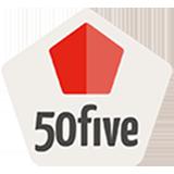 € 5,50 korting op elke bestelling bij 50five